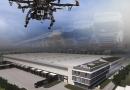 Dron rozpoczął budowę nowoczesnego centrum
