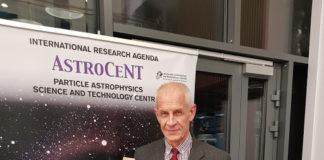 Prof. Leszek Roszkowski - kierownik ośrodka badawczego Astrocent