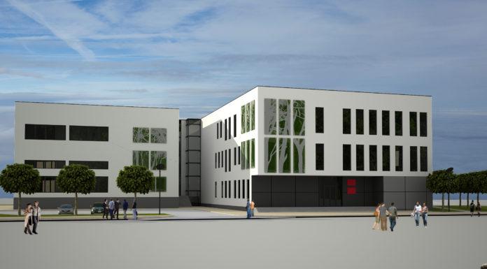 Wizualizacja Międzynarodowego Centrum Badawczo-Rozwojowego Uniwersytetu Opolskiego